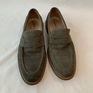 Banana Republic Suede Penny Loafers